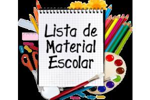 LISTA DE MATERIAL ENSINO MÉDIO