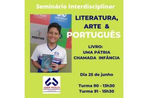 Seminário Interdisciplinar Literatura, Arte e Português – 9º ano