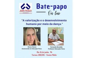 Bate-papo on line – Educação Física – Turmas 200/201