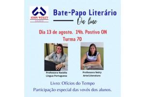 Bate-Papo Literário – Turma 70